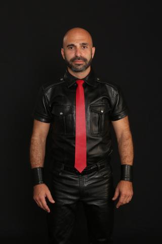 David Saban, Israel Mr. Leather 2015