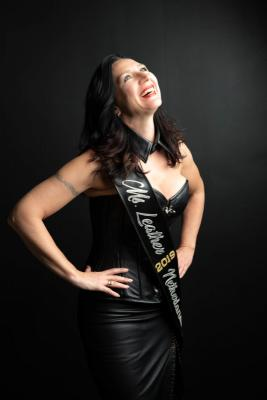 Suzanne van de Laar, Ms. Leather Netherlands 2019