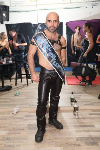 David Sabani, Israel Mr. Leather 2015